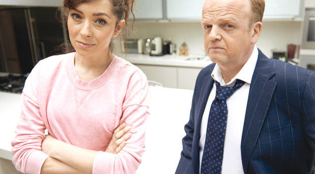 Capital offences: Zrinka Cvitesic and Toby Jones in the thriller
