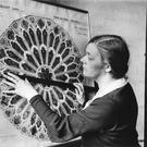 Troubled talent: Wilhelmina Geddes at work