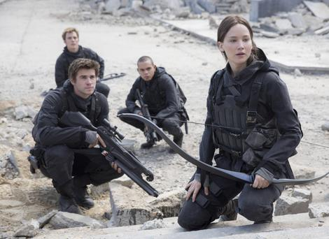 Undated Film Still Handout from The Hunger Games: Mockingjay - Part 2. See PA Feature FILM Reviews. Picture credit should read: PA Photo/Lionsgate/Murray Close. WARNING: This picture must only be used to accompany PA Feature FILM Reviews.