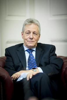 Peter Robinson reveals his plans to retire to the Belfast Telegraph