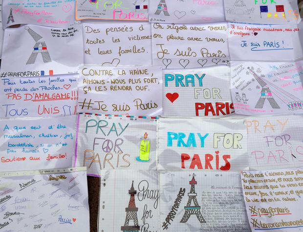 Inspiring call: we've been exhorted to 'pray for Paris', but a longer term solution must be found