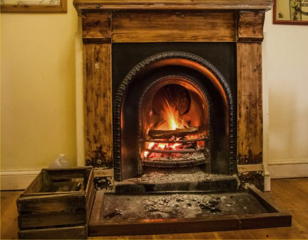 Focal point: fireplaces can make a great DIY project
