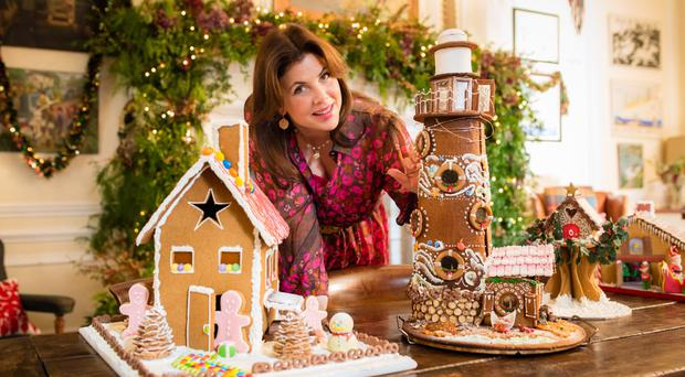 Light fun: Kirstie Allsopp