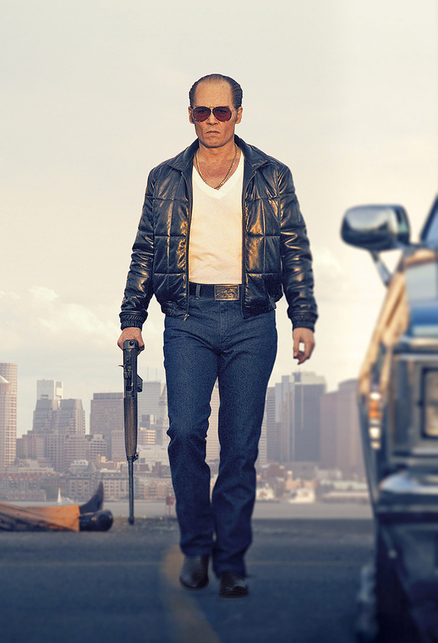 Murder Incorporated: Johnny Depp as gang leader Whitey Bulger in the film Black Mass