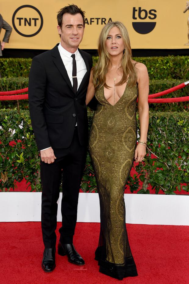 Just wed: Jennifer Aniston and Justin Theroux