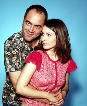 Better days: James Nesbitt and Helen Baxendale in Cold Feet