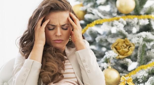 Under pressure: we all know that Christmas can prove to be a strain, but there are steps we can take to stop us from being overwhelmed