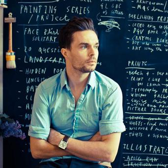 Diverse talent: author and artist, Oliver Jeffers