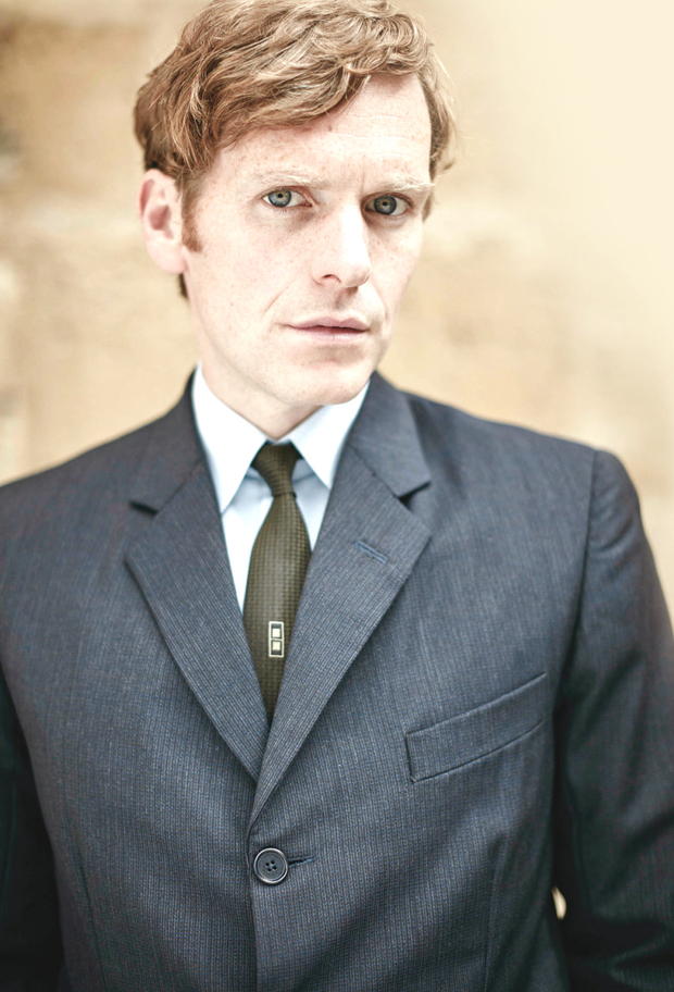 Shaun Evans as the young Morse