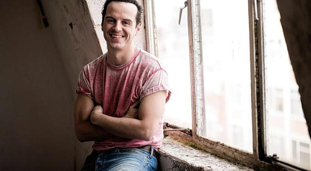 Game's afoot: Sherlock star Andrew Scott