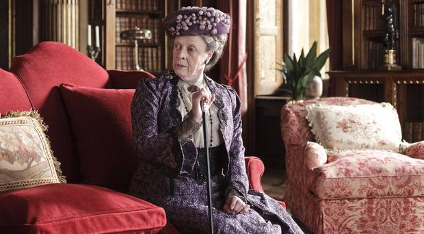 Maggie Smith as Dowager Countess of Grantham in Downton Abbey