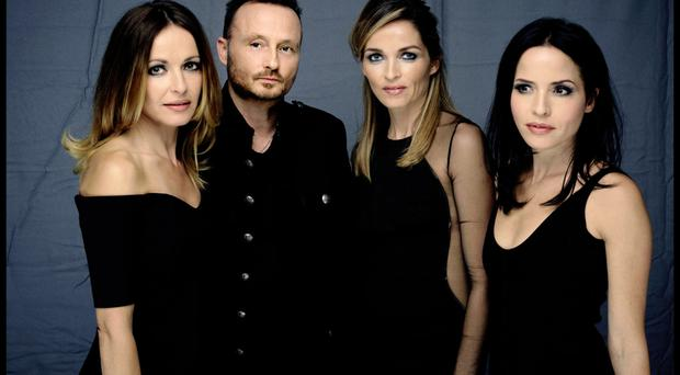 Belated return: The Corrs are back with new album White Light and a tour which hits Belfast this month
