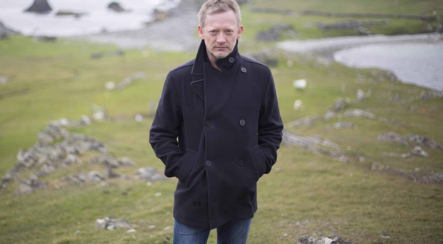 New case: Douglas Henshall who plays DI Jimmy Perez in Shetland