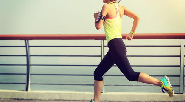 On track: the correct trainers can really help your running