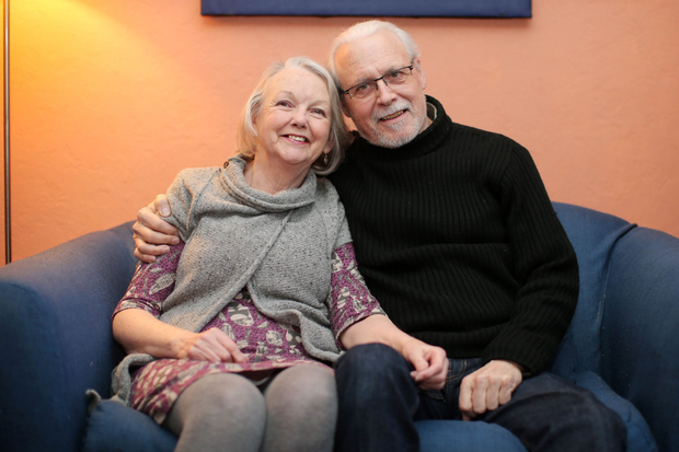 Love at first sight: Bill and Pat Love at home in Carrickfergus