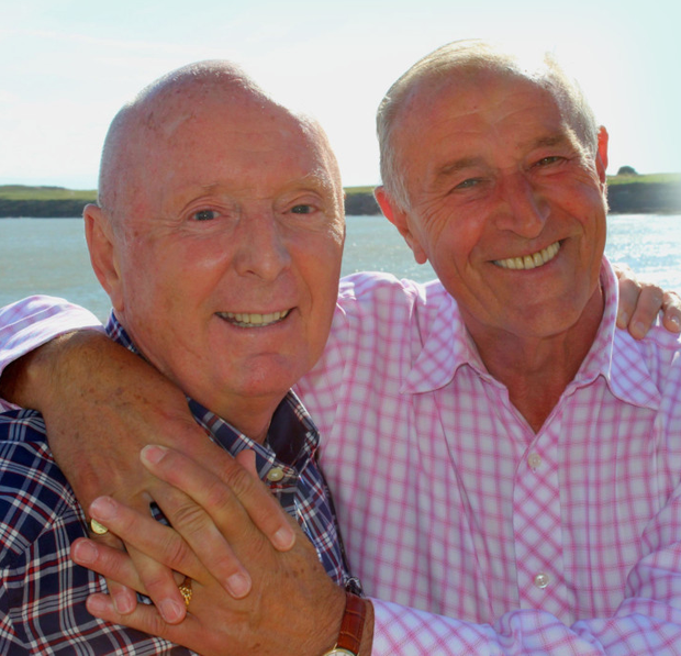 Len Goodman and Jasper Carrot