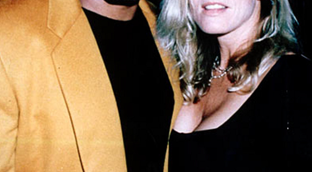 OJ Simpson with Nicole Brown, the ex-wife he was accused of killing