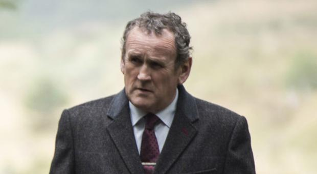 A scene from the new movie The Journey, starring Timothy Spall as Ian Paisley and Colm Meaney as Martin McGuinness