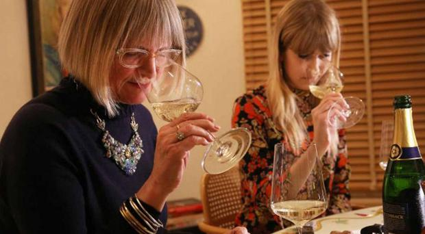 Jancis Robinson showed Chloe the ropes