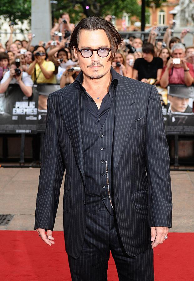 High spec: Johnny Depp is a prolific glasses wearer