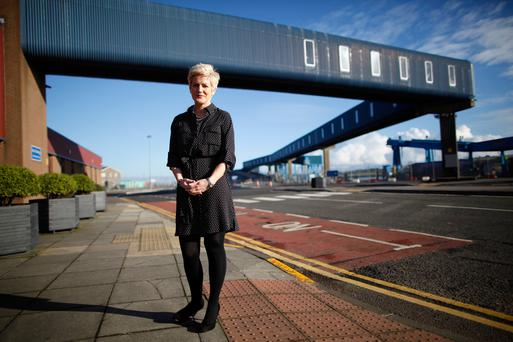 Top team: Laura Gilmour, port manager responsible for operations