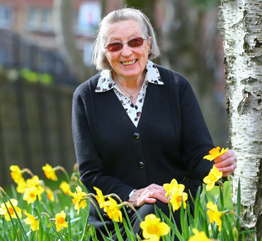 Caring nature: Sister Olive Cooney at the Dominican Convent in West Belfast