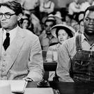 A scene from the film adaptation of To Kill A Mockingbird