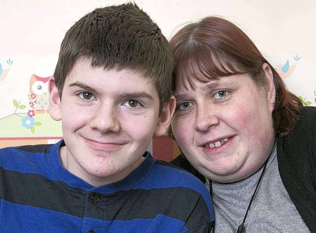Tight bond: Hannah Perry with her brother Ashley