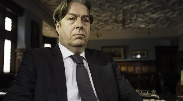 True believer: Roger Allam stars as Henry Stanfield, a career diplomat who has just been appointed Truth Commissioner for Northern Ireland