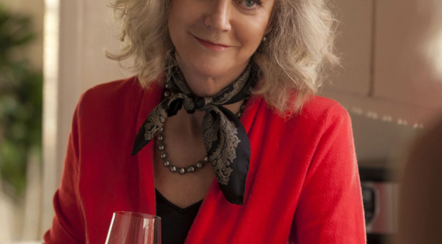 Leading lady: actress Blythe Danner