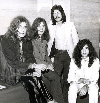 Ulster debut: Led Zeppelin