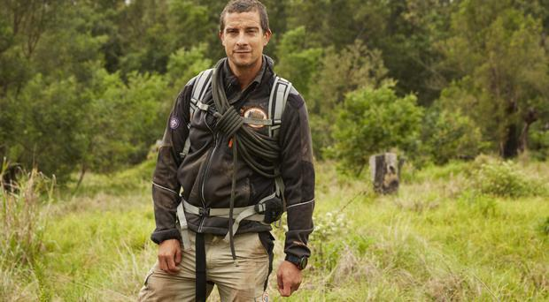 Action man: Bear Grylls has found himself in many treacherous situations