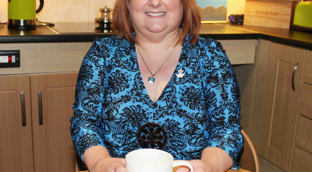 Support role: Liz Cunningham, who was diagnosed with early onset dementia