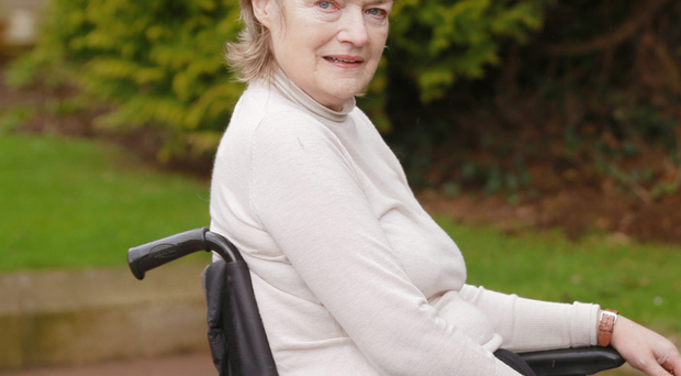 Born survivor: Jenny O'Neill has fought back from the brink of death