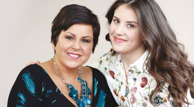 Julie Scates and daughter Leah