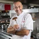 Running man: Michel Roux Jr