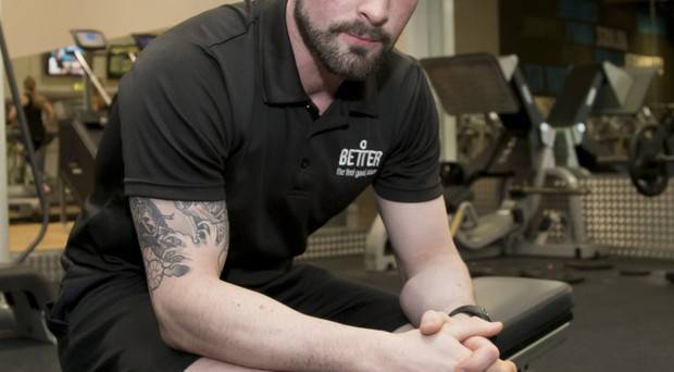 Feeling good: Alan Waterman now works as a personal trainer