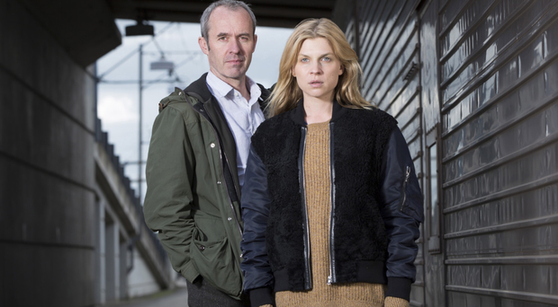 Second coming: Stephen Dillane and Clemence Poesy star again in The Tunnel