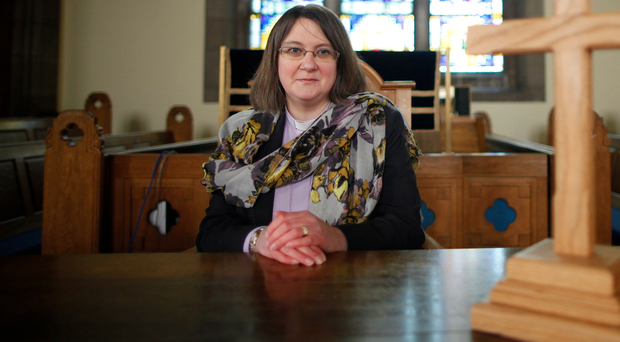 Church calling: Rev Fiona Forbes had previously worked in food retail