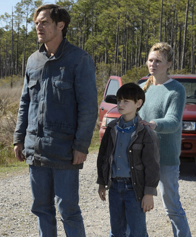 Night moves: Michael Shannon stars in new film Midnight Special with Jaeden Lieberher and Kirsten Dunst