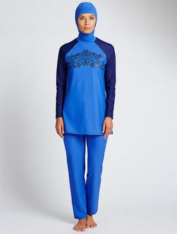 The swimsuit burkini on sale in M&S