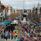 Rising again: Easter 1916 commemorations in Dublin passed off peacefully