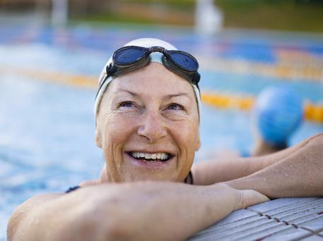 Good health: swimming works our muscles without pressuring joints