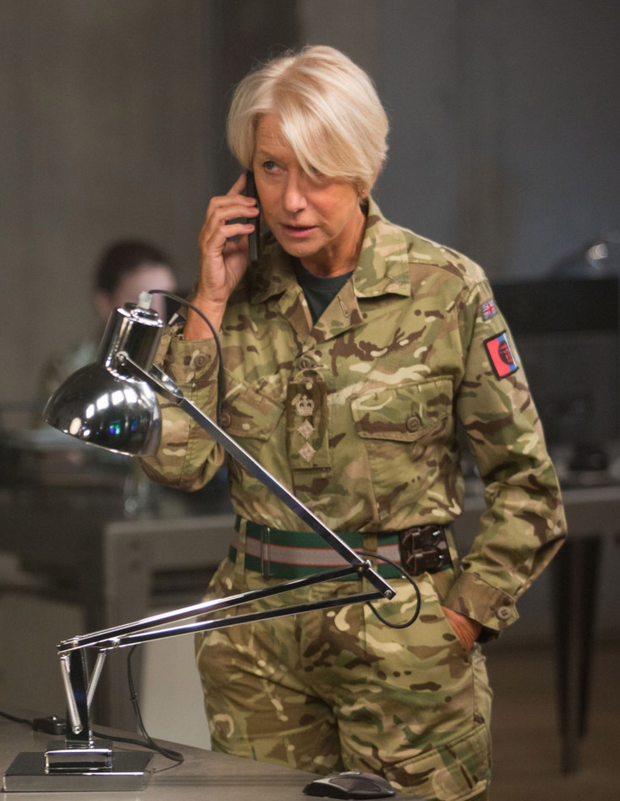 Soldiering on: Helen Mirren in Eye in the Sky