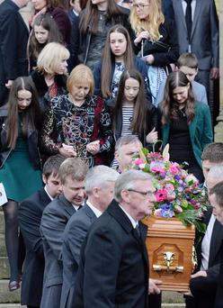 Lesley-Ann McCarragher's funeral