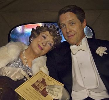 Pitch imperfect: Meryl Streep as Florence Foster Jenkins, with Hugh Grant as her boyfriend St Clair Bayfield