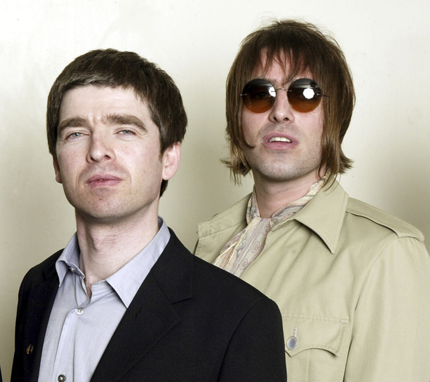 Family feud: Noel with brother Liam