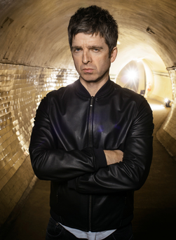 Flying solo: Noel Gallagher