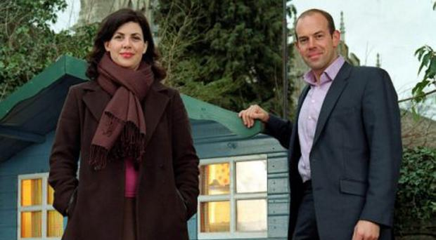 Kirstie Allsopp with her co-presenter Phil Spencer