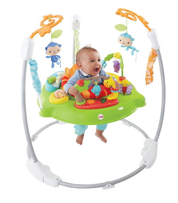Fisher-Price Roaring Rainforest Jumperoo, available from amazon.co.uk